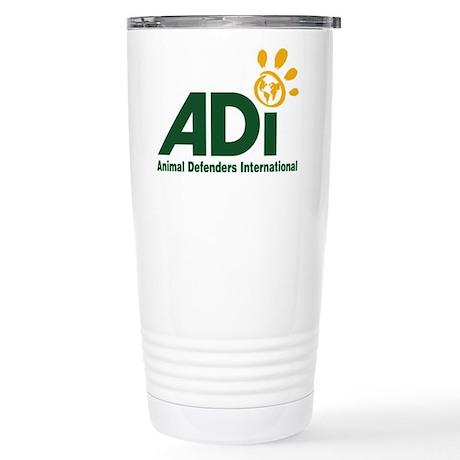 ADI logo Stainless Steel Travel Mug