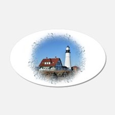 Unique Lighthouse Wall Decal