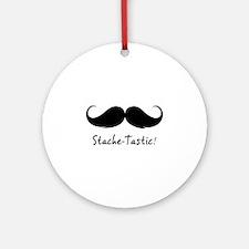 My moStache-tastic! Ornament (Round)