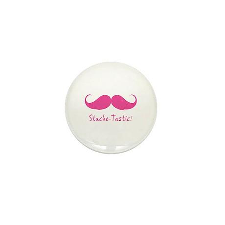 My moStache-tastic! Mini Button