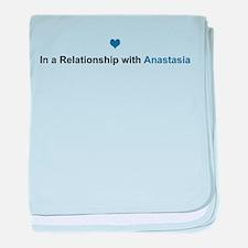 Anastasia Relationship baby blanket