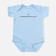 Anastasia Relationship Infant Bodysuit