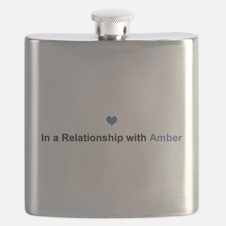 Amber Relationship Flask