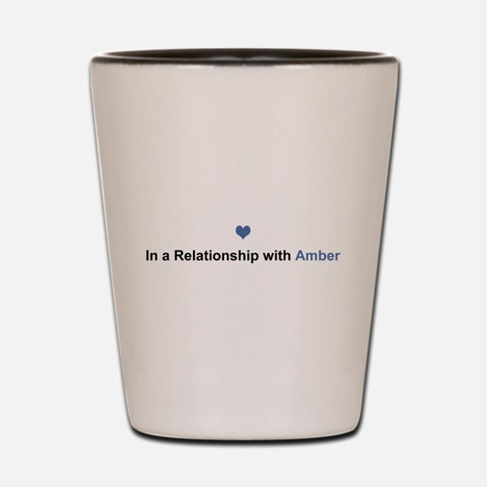 Amber Relationship Shot Glass