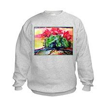 Cactus! Colorful desert art! Sweatshirt