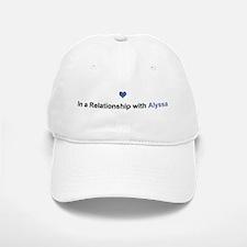 Alyssa Relationship Baseball Baseball Cap