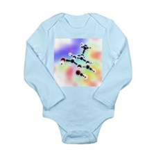 Dopamine, 3D molecular model - Long Sleeve Infant