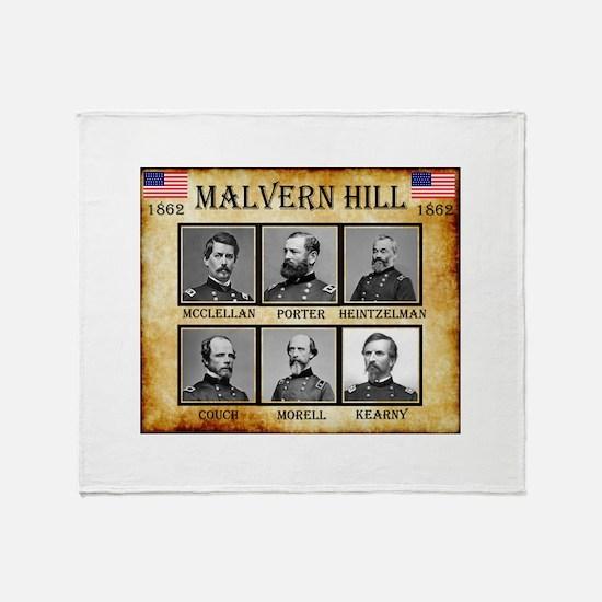 Malvern Hill - Union Throw Blanket