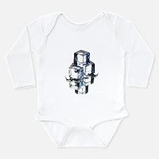Ice cubes - Long Sleeve Infant Bodysuit