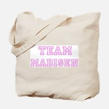 Pink team Madisen Tote Bag