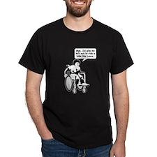 Left Nut Lance Drk.png T-Shirt
