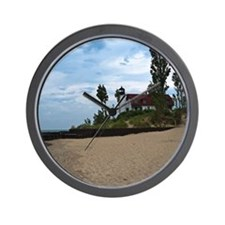 Point Betsie Lighthouse Wall Clock