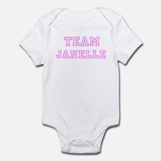 Pink team Janelle Infant Bodysuit