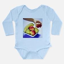 Assorted fruit - Long Sleeve Infant Bodysuit
