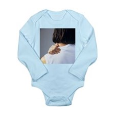 Back pain - Long Sleeve Infant Bodysuit
