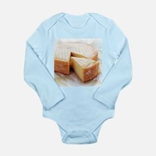Camembert cheese - Long Sleeve Infant Bodysuit