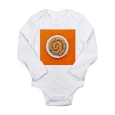 Coiled sausage - Long Sleeve Infant Bodysuit