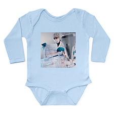Forensic scientist - Long Sleeve Infant Bodysuit
