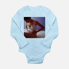 Menstrual cramps - Long Sleeve Infant Bodysuit