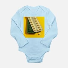 Oral contraception - Long Sleeve Infant Bodysuit