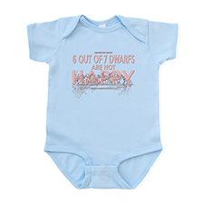 6 Dwarfs Infant Bodysuit