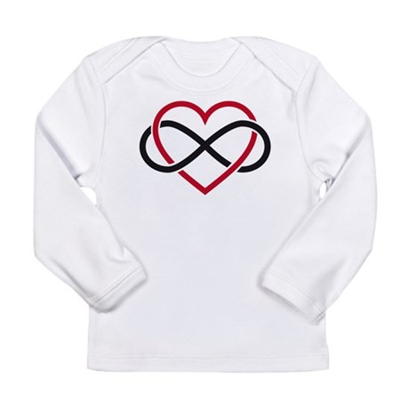 Infinity heart, never ending love Long Sleeve Infa