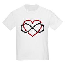 Infinity heart, never ending love T-Shirt
