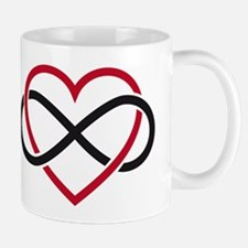 Infinity heart, never ending love Mug