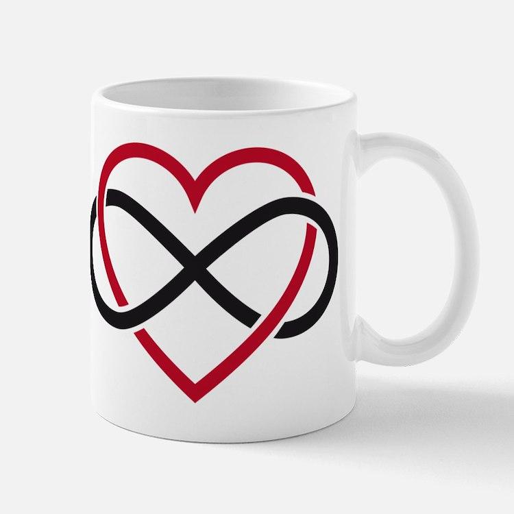 Infinity heart, never ending love Mug