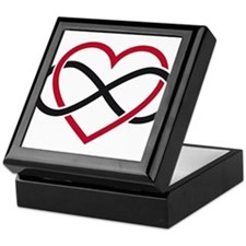 Infinity heart, never ending love Keepsake Box