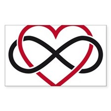 Infinity heart, never ending love Decal