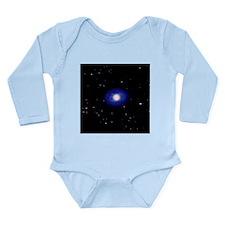 Galaxy NGC 1398 - Long Sleeve Infant Bodysuit