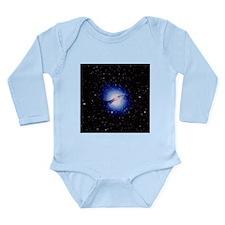 Radio galaxy Centaurus A - Long Sleeve Infant Body
