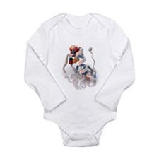Insulin molecule - Long Sleeve Infant Bodysuit
