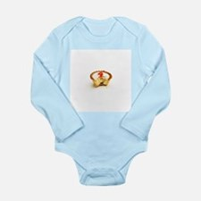 Tart with cherry - Long Sleeve Infant Bodysuit