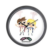 Telmo y Tula Reloj Pared