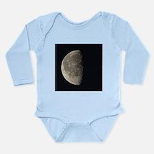 Waning gibbous Moon - Long Sleeve Infant Bodysuit