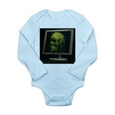 Artificial intelligence - Long Sleeve Infant Bodys