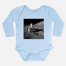 Eugene an on Lunar Rover, Apollo 17 - Long Sleeve