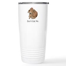 Dont Eat Me Cow Travel Mug