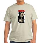 Skeleton Ash Grey T-Shirt