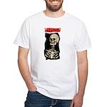 Skeleton White T-Shirt