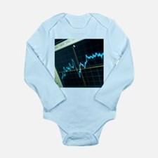 Oscilloscope trace - Long Sleeve Infant Bodysuit
