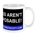 Dogs Against Scott Dogs Aren't Disposable Mug