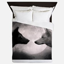 Best selling wolf Queen Duvet