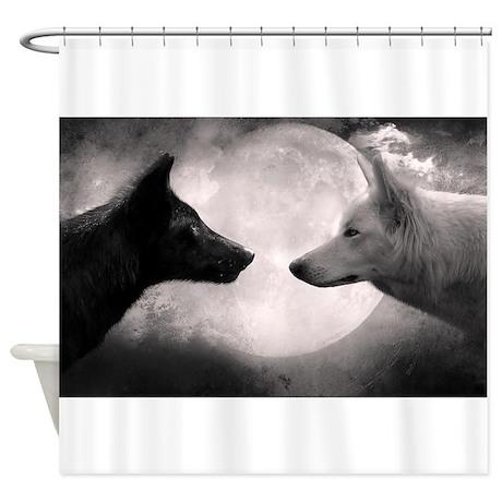 Best Selling Wolf Shower Curtain By GenesisGifts1