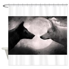 Best selling wolf Shower Curtain