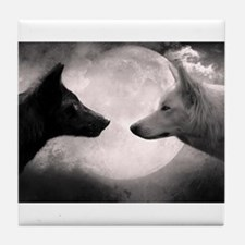 Best selling wolf Tile Coaster