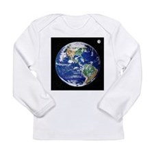 Earth from space, satellite image - Long Sleeve In