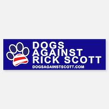 "Dogs Against Rick Scott ""Paw"" sticker"